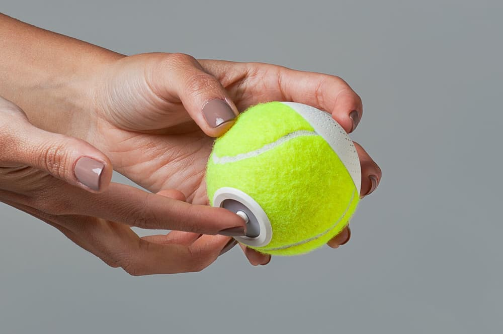 hearO enceintes bluetooth balles de tennis 1