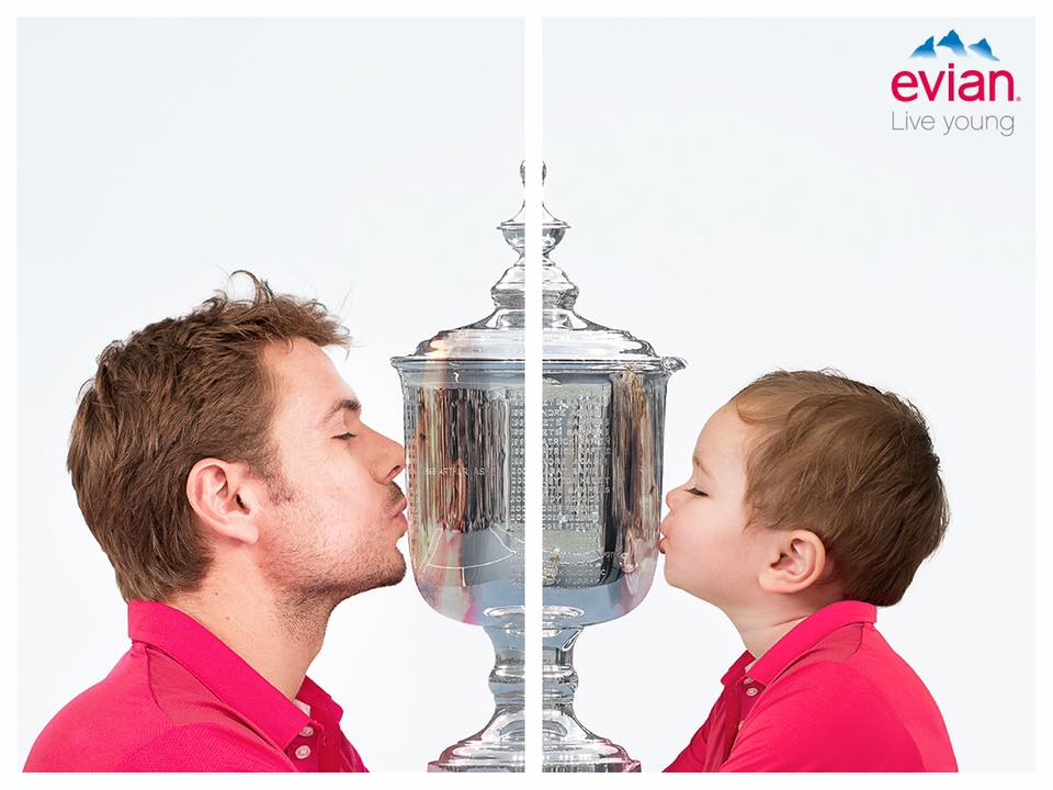 Evian marketing communcation campaign
