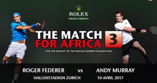 Roger Federer VS. Andy Murray à Zurich en 2017