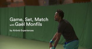 Airbnb Experience avec Gael Monfils