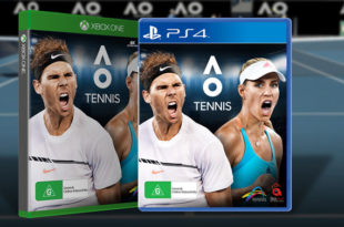 ao tennis jeu video ps4 x box one